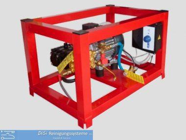 Hochdruckreiniger-Kaltwasser-Käfig-Stahl-Mazzoni