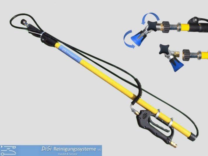 Funktionslanzen-Hochdruck-Teleskoplanze-Fiberglas