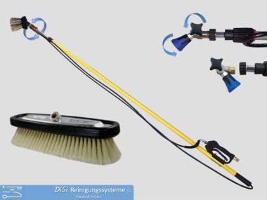 Funktionslanzen-Bürste-Teleskoplanze