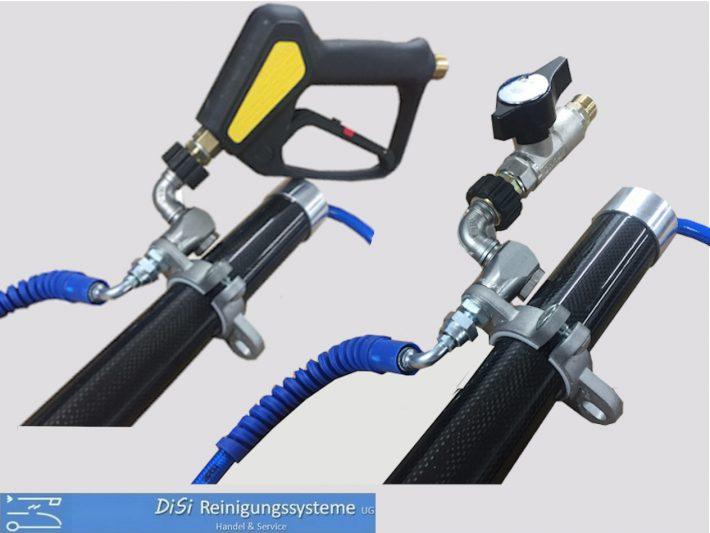 Hochdruck-Carbon-Teleskoplanze-Pistolenflansch