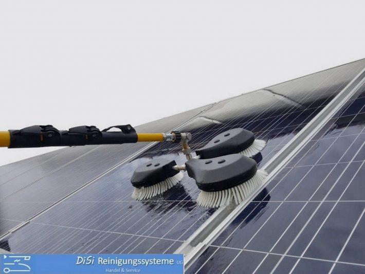 Photovoltaik-Reinigungsset-Solar-Waschbürste