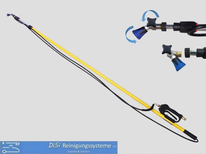 Funktionslanzen-Teleskoplanze-Fiberglas