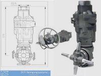 Tankreiniger-Behälterreiniger-Reinigungskopf-Hydraulisch