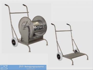 Schlauchaufroller-Schlauchwagen