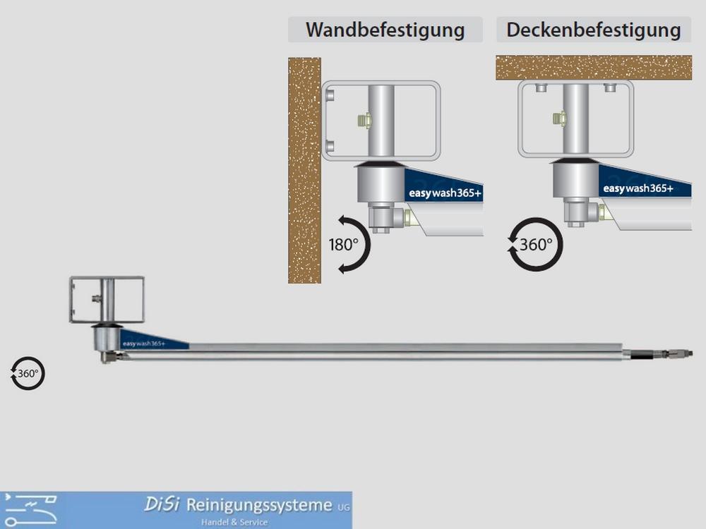 Schwenkarm-Deckenkreisel für Waschpark Wap Nilfisk Alto