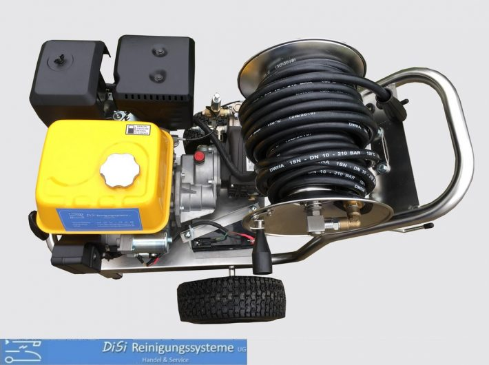 Hochdruckreiniger-Fahrwagen