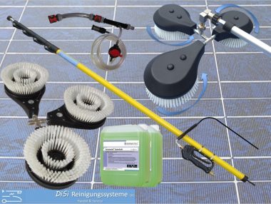 Photovoltaik Reinigungsset